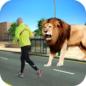 Angry Cecil,City Lion Attack3D for PC and MAC