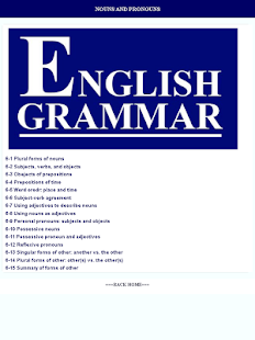 English Grammar- screenshot thumbnail