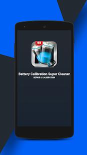 Battery Calibration Super Cleaner 2018 - náhled