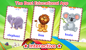 Cute Animals Cards (Learn Languages)
