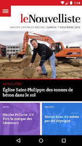 Le Nouvelliste screenshot 1