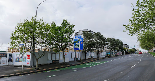 Greenwich Park + Glenside Apartments remediation, Symonds Street, Grafton, Auckland