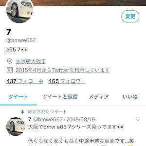 7シリーズ E65 のカスタム事例画像 @rさんの2018年09月14日18:37の投稿