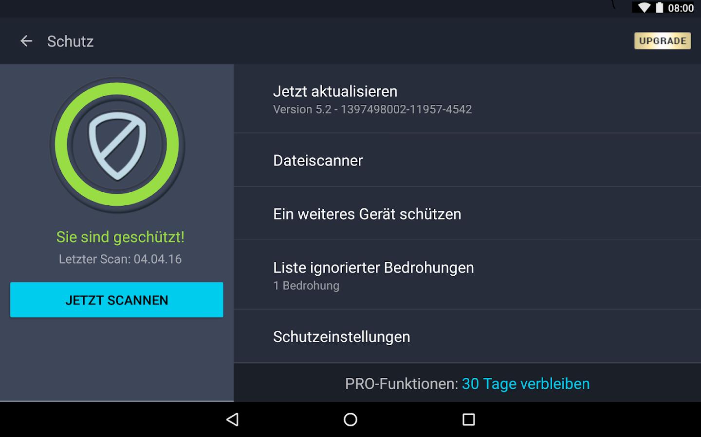 wichtige apps tablet