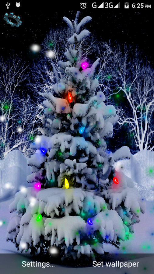 4d christmas live wallpaper android apps on google play