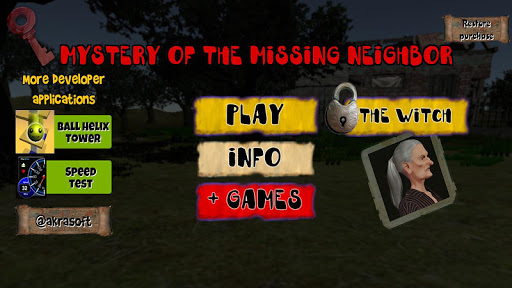 Mystery of missing neighbor, escape puzzle game 0.1.9 screenshots 1