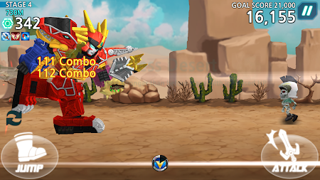 Power Rangers Dash (Asia) 1.5.2 screenshot 237180