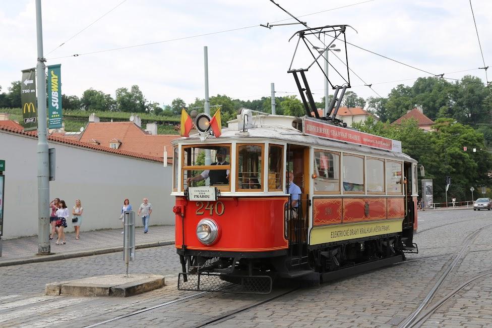 Praga, zabytkowy tramwaj