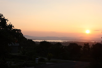 Photo: Year 2 Day 230 - Sunset from Cape Hawke Lookout