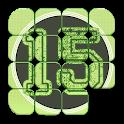 Classic 15 Puzzle games free icon