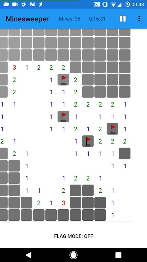 Ultimate Touch Minesweeper (Unreleased)- screenshot