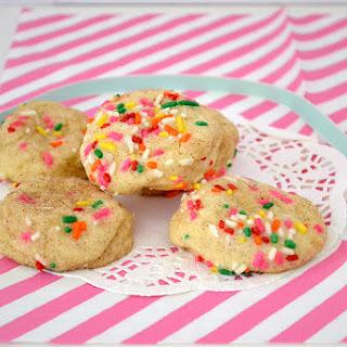 Lemon Snickerdoodle Funfetti Cookies.