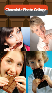 Chocolate Photo Collage - náhled