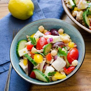 Lemon-scented Chicken And Farro Salad.