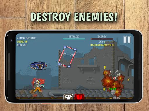 run through enemies screenshot 2