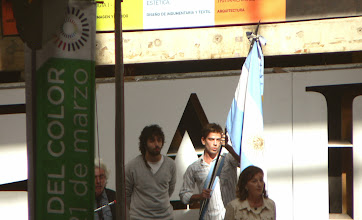 Photo: Univ. of Buenos Aires, School of Architecture: the color day was coincident with the beginning of the academic year 2013