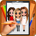 Learn How to Draw Chibi Famous Celebrities APK