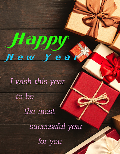 Happy New Year Wishes SMS 1.1 Screenshots 5