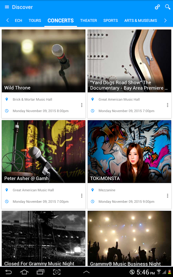 eventseeker - events, concerts- screenshot