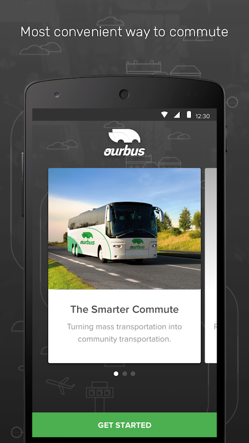 OurBus- screenshot