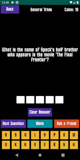 Quiz About Star Trek 1.0 screenshots 1