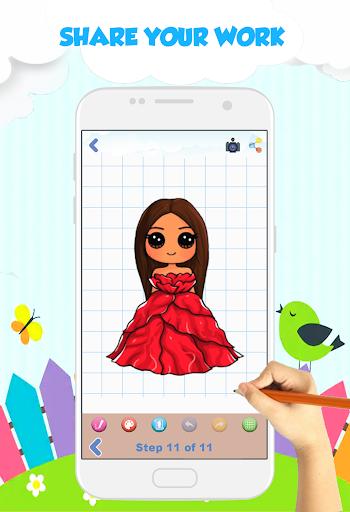 How to Draw Chibi Celebrities screenshot 4