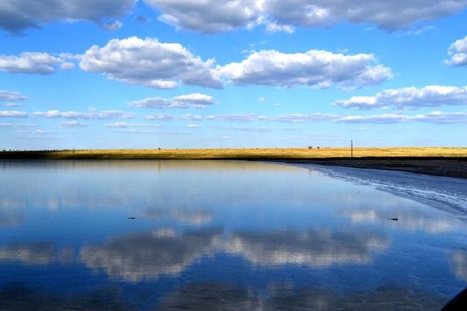 Чудо природы - озеро Тузлы | Очаковский портал