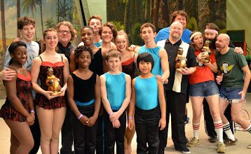 Photo: Winners of the 2015 PHIL trophies - Circus Harmony, David Cain, Forty Fingers and a MIssing Tooth