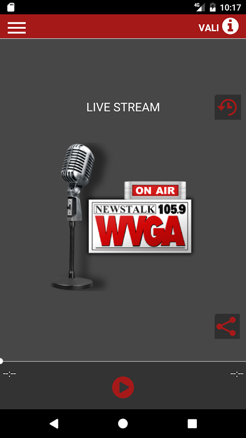 WVGA Live- screenshot