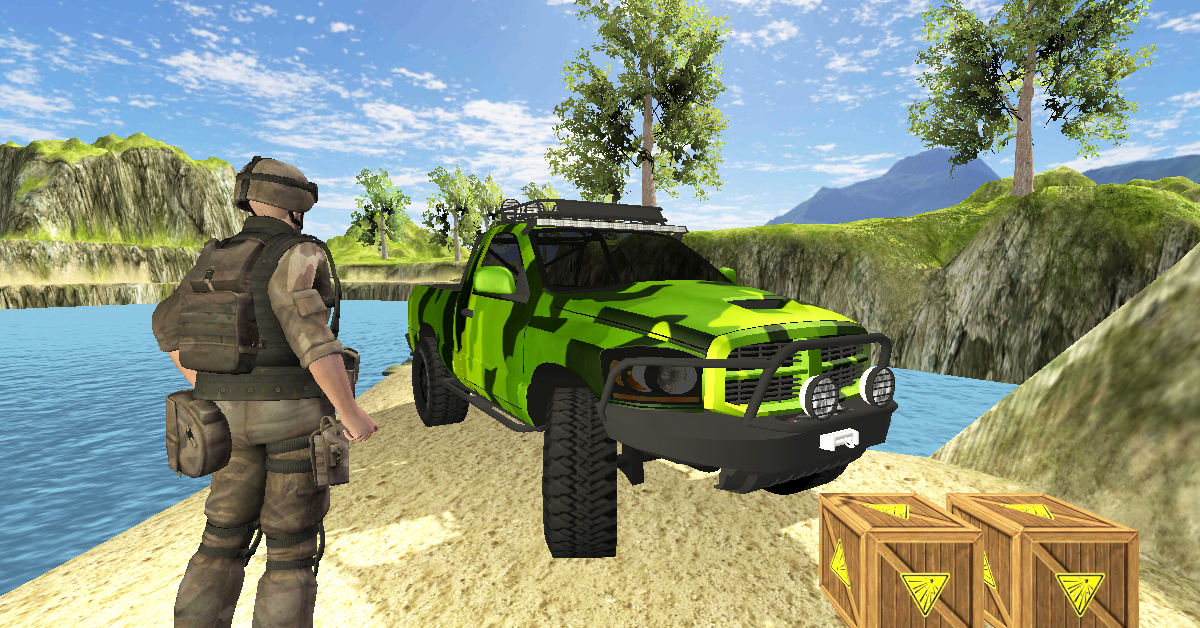 Army Truck Transport- screenshot