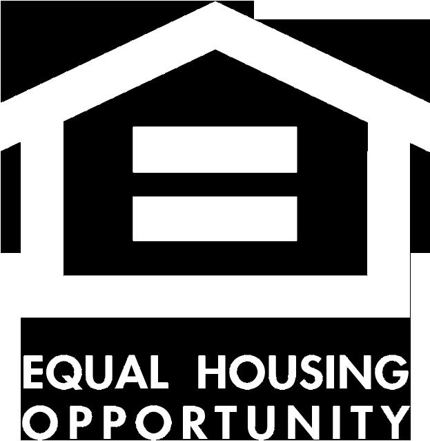 Equal Housing Opportunity White Logo