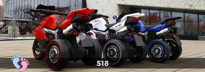 Xe mô tô điện thể thao cho bé 518 2