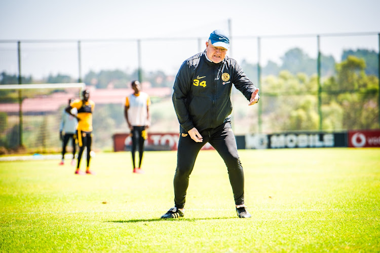 Kaizer Chiefs coach Gavin Hunt.