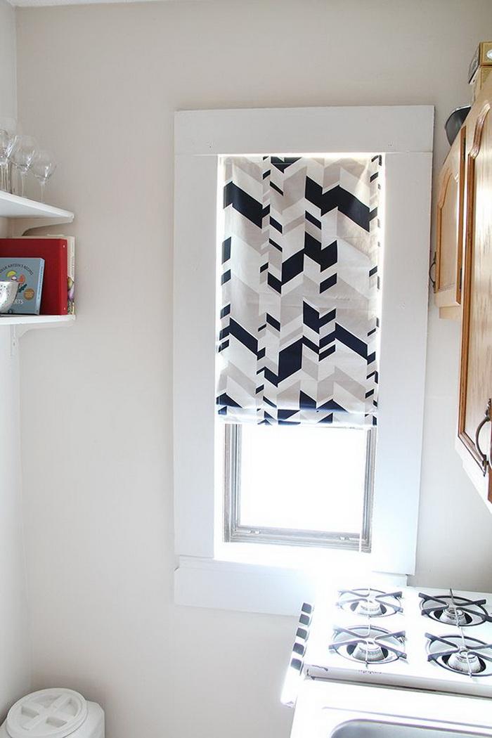 Làm thế nào để cho rèm cửa sổ bớt đơn điệu?