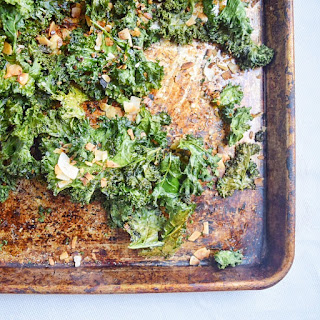 Toasted Coconut Kale Chips