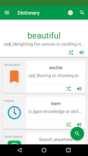 Dictionary : Word Definitions & Examples – Erudite – Latest MOD APK 1