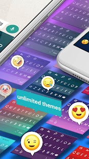 Nougat Android Keyboard - Fast Typing smart emojis - náhled