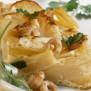Healthy Asparagus and Shrimp Bake