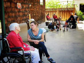 Photo: Mountain View, Calif. - At the Lytton Gardens Senior Community, Googlers visited patients and aided in fixing up medical equipment and the facilities.