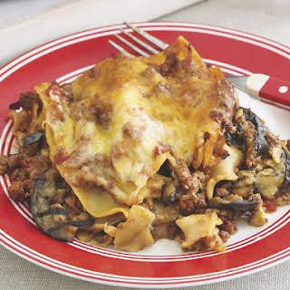 Lamb and Eggplant Lasagne.