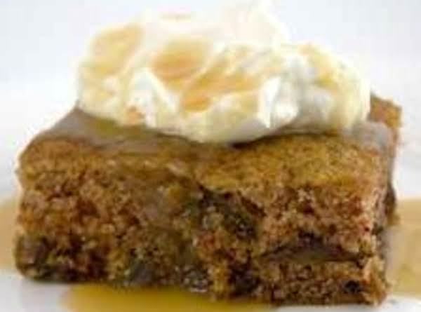 Cora's Date Pudding  - A Very Old Recipe