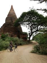 Photo: Year 2 Day 57 - Dee and a Stupa