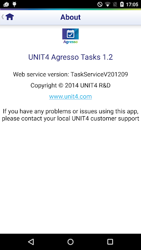 【免費商業App】UNIT4 Agresso Tasks-APP點子