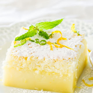 Lemon Magic Cake.