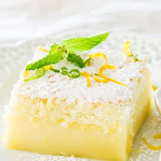 Lemon Magic Cake.
