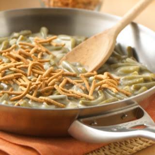 Creamy Green Bean 'Casserole' Skillet