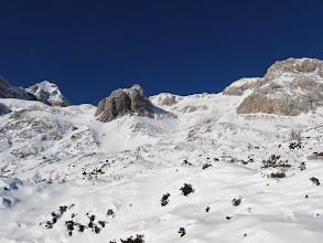 Photo: levo Mali Triglav, na sredini Kalvarija