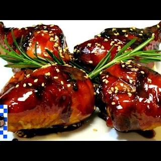 Honey Balsamic Glazed Chicken - Baked Chicken.