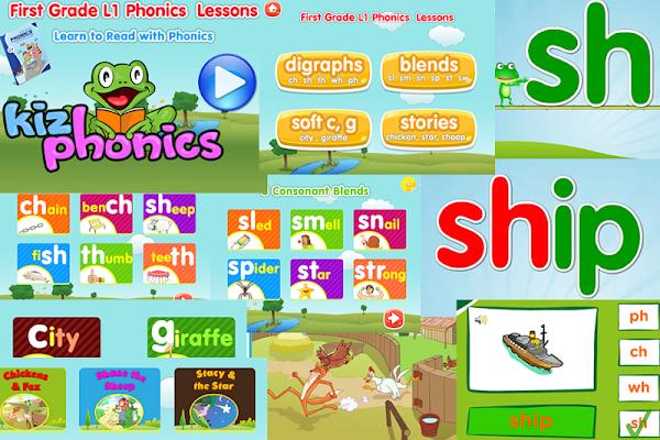 Phonics 1G1 Kizphonics Lite - screenshot