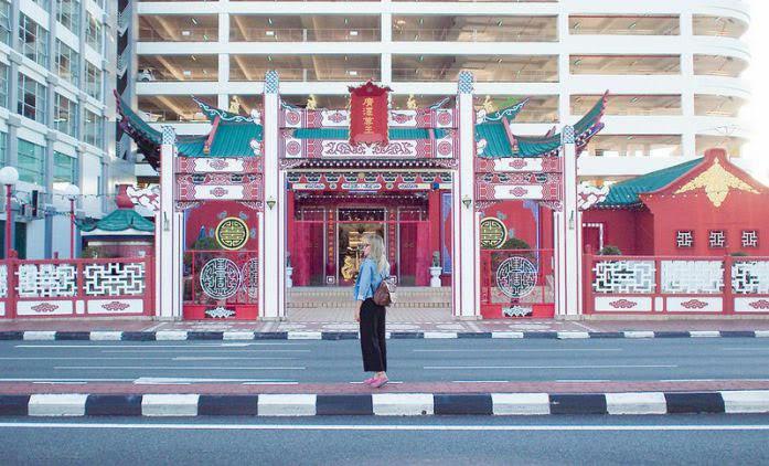 Ngôi chùa Chinese Temple